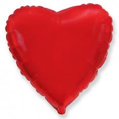 Шар Сердце, Красный / Red (в упаковке)