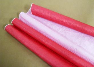 Бумага Эколюкс (жатая) пастель Красный / Розовый