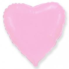 Шар Сердце, Розовый / Pink (в упаковке)