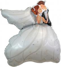 Шар Фигура Свадебный танец (в упаковке)