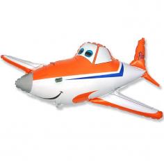 Шар Мини-фигура Гоночный самолет, Оранжевый / Race Plane orange (в упаковке)