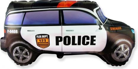 Шар Фигура Полицейская машина (в упаковке)