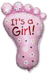 Шар фигура, Ножка девочки / Foot Girl (в упаковке)