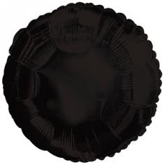 Шар Круг, Черный, Пастель / Black (в упаковке)