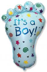 Шар фигура, Ножка мальчика / Foot Boy (в упаковке)