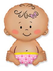 Шар фигура, Малышка / Baby Pink (в упаковке)