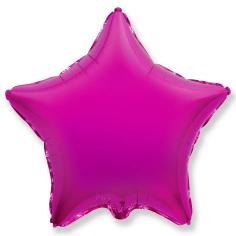 Шар Звезда, Лиловый / Purple (в упаковке)