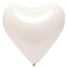 Сердце Морозно-Белый, Пастель (Стандарт) / Frosty White