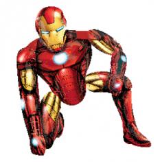 Шар Ходячая фигура, Железный человек (в упаковке)