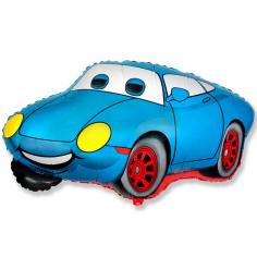 Шар Мини-фигура Весёлый гонщик, Синий / Racing (в упаковке)