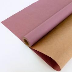 Крафт-бумага вержированная Лавандовая / рулон