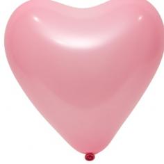 Сердце Розовый, Пастель (Стандарт) / Pink