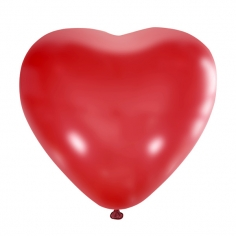 Сердце Красный, Пастель / Red 006