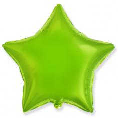 Шар Звезда, Лайм / Green Lime (в упаковке)