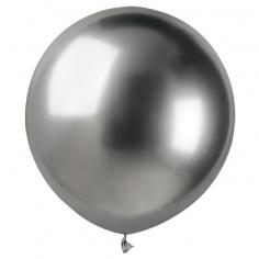 Шар Хром Серебро / Shiny Silver 89