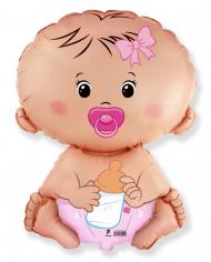 Шар фигура, Малышка девочка (в упаковке)