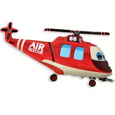 Шар Мини-фигура Вертолет спасательный / Rescue Helicopter (в упаковке)