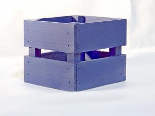 Декоративные ящики Л8-И сиреневый 85*110*110