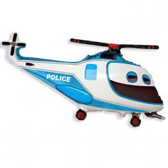 Шар Мини-фигура Вертолет полицейский / Police Helicopter (в упаковке)