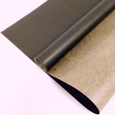 Крафт-бумага вержированная Черная / рулон