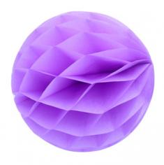 Бумажный шар-соты Сиреневый