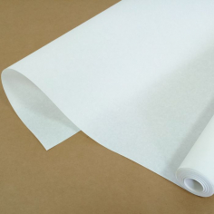Пергамент флористический Белый / рулон