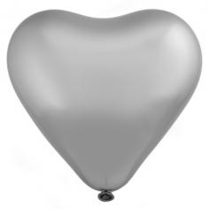 Сердце Платина, Хром Сатин / Platinum