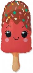 Шар Мини-фигура, Счастливое эскимо, Красный