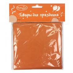 Скатерть полиэтиленовая Оранжевый / Orange