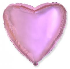 Шар Сердце, Розовый нежный / Light Pink (в упаковке)