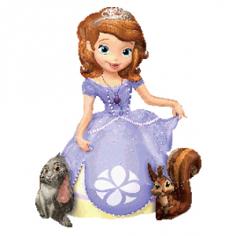 Шар Ходячая фигура, Принцесса София (в упаковке)