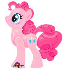 Шар Ходячая фигура, Пинки Пай, в упаковке / Pinkie Pie AWK