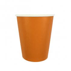Стаканы бумажные Оранжевый / Orange