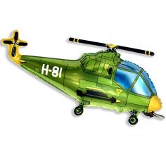Шар Мини-фигура Вертолёт, Зелёный / Helicopter (в упаковке)