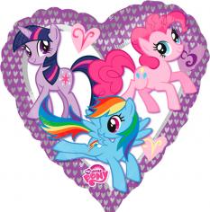 Шар Сердце, Моя маленькая Пони / My Little Pony Heart (в упаковке)