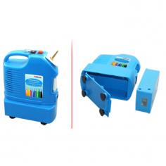 Компрессор для ШДМ со съемным аккумулятором, ремнем и ножной педалью