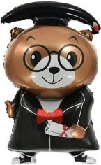 Шар Фигура, Медведь Выпускник (в упаковке)