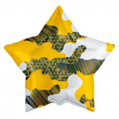 Шар Звезда, Камуфляж абстрактный (в упаковке)