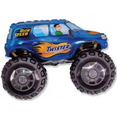 Шар Мини-фигура Большой внедорожник, Синий / Big wheel (в упаковке)