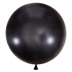 Шар Черный, Декоратор / Black 048