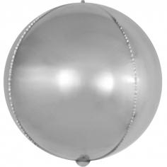 Шар Мини-сфера 3D, Серебро (в упаковке)