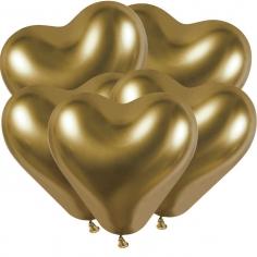 Сердце Хром Золото / Shiny Gold