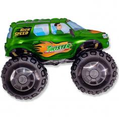 Шар Мини-фигура Большой внедорожник Зелёный / Big wheel (в упаковке)