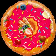 Шар Круг Пончик, в упаковке