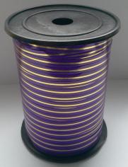 Лента Фиолетовая с Золотой полоской