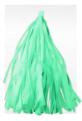 Гирлянда Тассел, Бирюзовая, 3 м, 12 листов