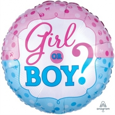 Шар Круг, Мальчик или Девочка? (в упаковке)