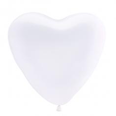 Сердце Белый, Пастель / White 004