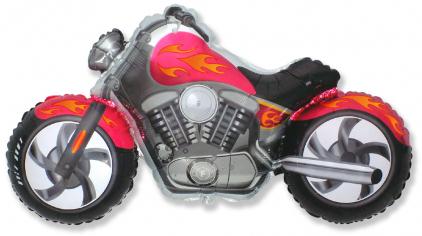 Шар Мини-фигура Байк, Фуксия / CUSTOM MOTO (в упаковке)