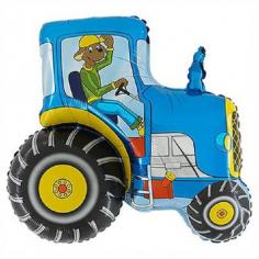 Шар Фигура, Трактор Синий / Dark Blue (в упаковке)